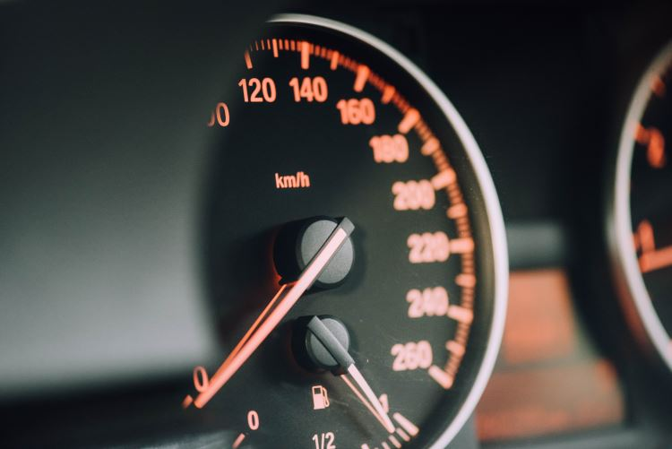 Car dashboard and speedometers